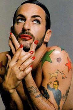 Happy Birthday to American design icon, Marc Jacobs!