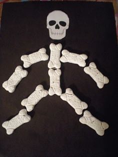 Use doggy bones to make a craft for Ezekiel and the Dry Bones