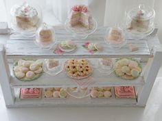 clay, dessert tables, bakeries, cottag miniatur, cottag design, cottage design, cottages, cottage kitchens, cynthia cottag