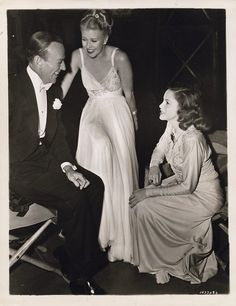 Fred Astaire, Ginger Rogers, and Judy Garland