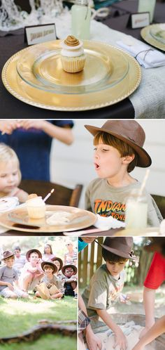cool indiana jones party for the boy of the house