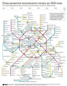 Схема метро москвы 2018 на карте москвы