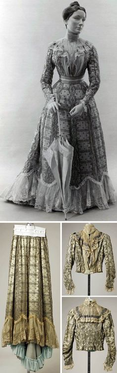 Dress, Mme. Kornmann, Paris, 1899. Silk. Metropolitan Museum of Art