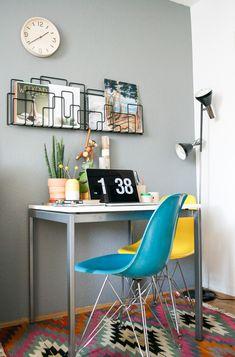 Urban Jungle Bloggers: Green Home Office