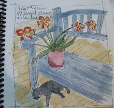 Wildflowerhouse: Watercolor