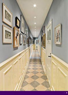 Decorating ideas for narrow hallway