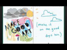 LET'S MAKE SOME GOOD ART - Absolutely fabulous video about creativity from 7th Grader Sarah Almeda via @JohnFritsky #inspiration #creativity #edchat