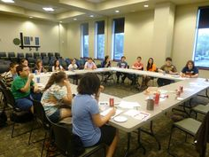 DAY 11: Join up with friends & help plan what teens do at the library at YAC (Youth Advisory Council).