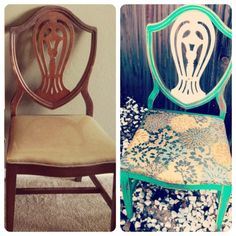 How to turn a dusty and beat up chair from Goodwill into an adorable shabby chic piece of art. Tips for antiquing or refinishing most projects.