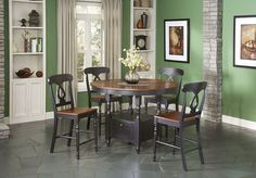 Phillip Table W/ 4 Chairs