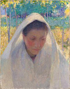 The Communicant (1889) E. Phillips Fox 1865 - 1915
