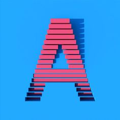 Letter A - Stylish designs for 36 DAYS OF TYPE.