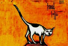 Bernard Buffet Cat 1965