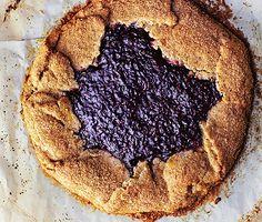 Raspberry-Hazelnut Galette Photo  at Epicurious.com