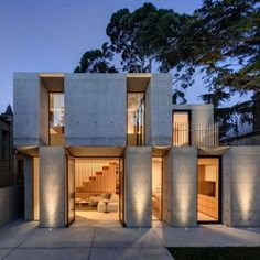 Glebe House by Nobbs Radford Architects  extends a Sydney residence