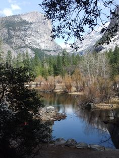 Mirror Lake at Yosemite National Park in California....pure bliss