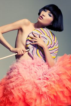 Fabulous Fun Tulle Ruffles -  Good, Bad, and Fab | LA style & best fashion trends blog: Spring into Candy Coated Dreams