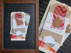 A fun project by Megan using the exclusive Elle's Studio Back-to-School cork pieces!