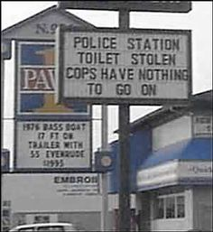 funny signs and billboards - Bing Images