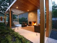 outdoor rooms, fireplace design, outside fireplace, patio, hous, small spaces, outdoor fireplaces, outdoor living rooms, outdoor spaces