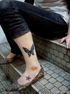 Tattoo on my ankle