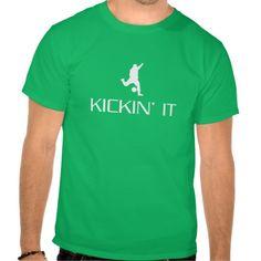 Kickin' It soccer shirt from zazzle.com/relevanttees. #soccer #zazzle #sport #sports