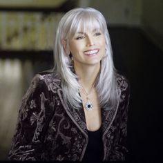 Emmylou Harris' enviable hair
