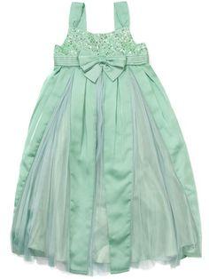 Mint green flower girl