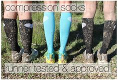 RunLove Compression Socks (Running Skirts) #running_skirts