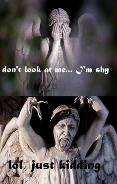 Is it just me or is fact that the Weeping Angels have retractable claws just make them that much more creepy. Seriously look at those daggers!