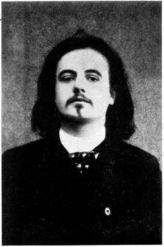 Alfred Jarry, (photographié par Nadar) auteur de Ubu roi