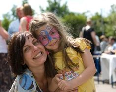 Face painting is fun, but even easier, get ahold of some temporary tattoos and quickly apply on cheeks and arms for picture time!