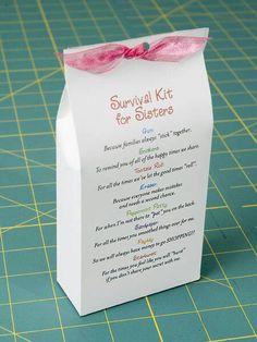 Sister survival kit