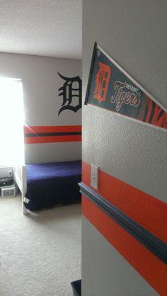 tigers room more detroit tigers baseball decor detroit tigers bedroom