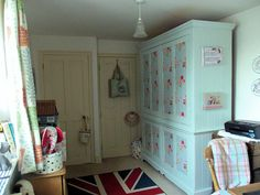 My Workroom by Bustle & Sew, via Flickr