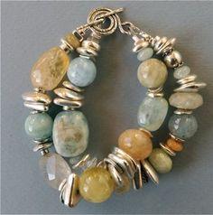 Aquamarine and silver