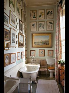 The museum's in the bath!