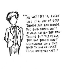 The bad things don't necessarily spoil the good things or make them unimportant. #doctorwho