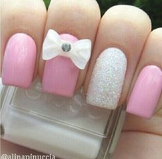 bows and glitter