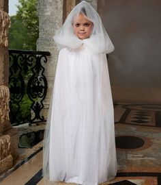 ghostly cape girls costume accessory - Chasing Fireflies