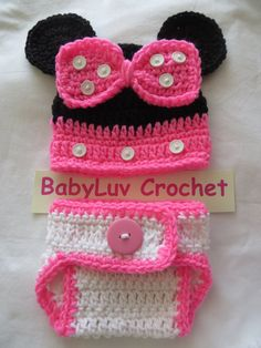 New Crocheted  Infant Mouse Photo Prop Baby by kimcrochetcreations, $17.95