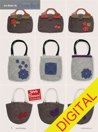 Build Your Own Bag Digital Crochet Pattern - from the Fall 2014 Issue of Love of Crochet magazine