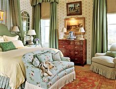 dog days, interior, little bedroom, english cottages, english country, cottage decorating, english style, country bedrooms, traditional homes
