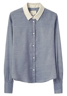 Boy by Band of Outsiders / Contrast Collar Shirt