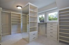 minus the 2 giant windows....CLOSETS closets-dressing-rooms