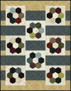 Shop | Category: Town and Country by Pepper Cory | Product: Town & Country Quilt II