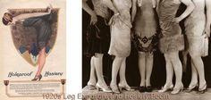 By the 1920′s, the prevailing mode seemed bent on divesting woman of the last wisp of raiment she could wear and be still considered clothed by the standards of the time. Read more ...........