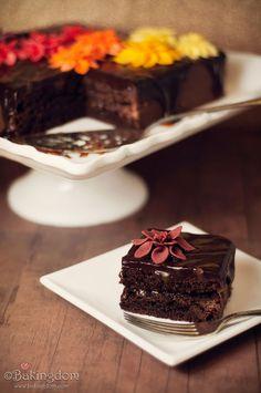 Caramel brownies from @Darla