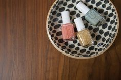 Add a little glimmer to your favorite solid nail color shades