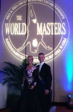 Charlene Proctor and Mikolay Czarnecki win the world Masters Pro Am 10 Dance and Standard Championships at the 2013 First Coast Classic in Jacksonville, Florida.